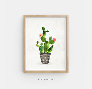 Potted Cactus No. 2