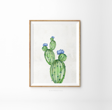 Load image into Gallery viewer, Cactus Watercolor No.3