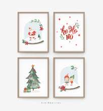Load image into Gallery viewer, Cute Christmas - set of 4