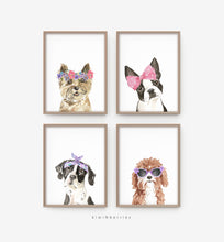 Load image into Gallery viewer, Cool Dogs - set of 4