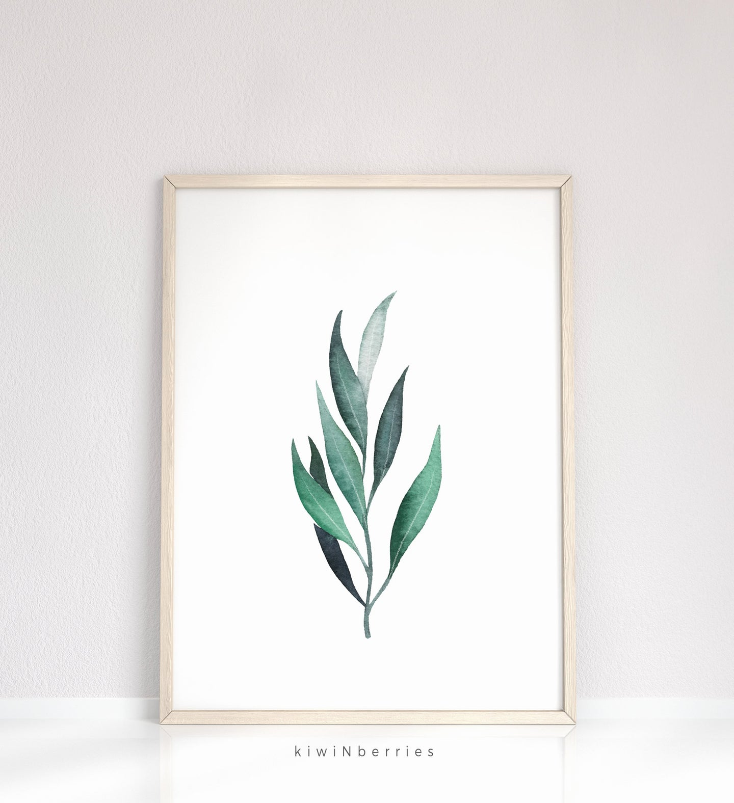 Eucalyptus Leaf No.1