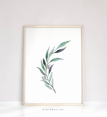 Eucalyptus Leaf No.3