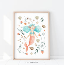 Load image into Gallery viewer, Flora Mermaid