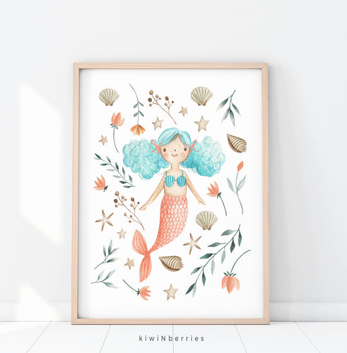 Flora Mermaid