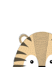 Load image into Gallery viewer, Hairy Tiger