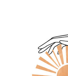 Hands with Sun