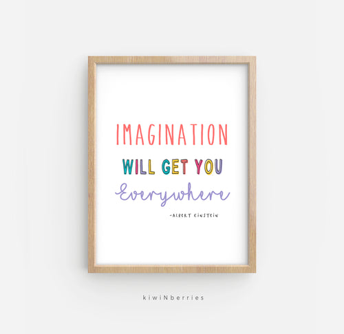 Imagination Will Get You Everywhere