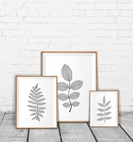 Detailed Branches - set of 3
