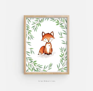 Leafy Animals - set of 4