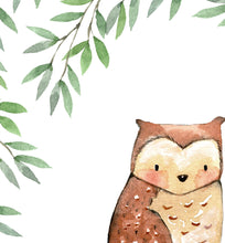 Load image into Gallery viewer, Leafy Owl