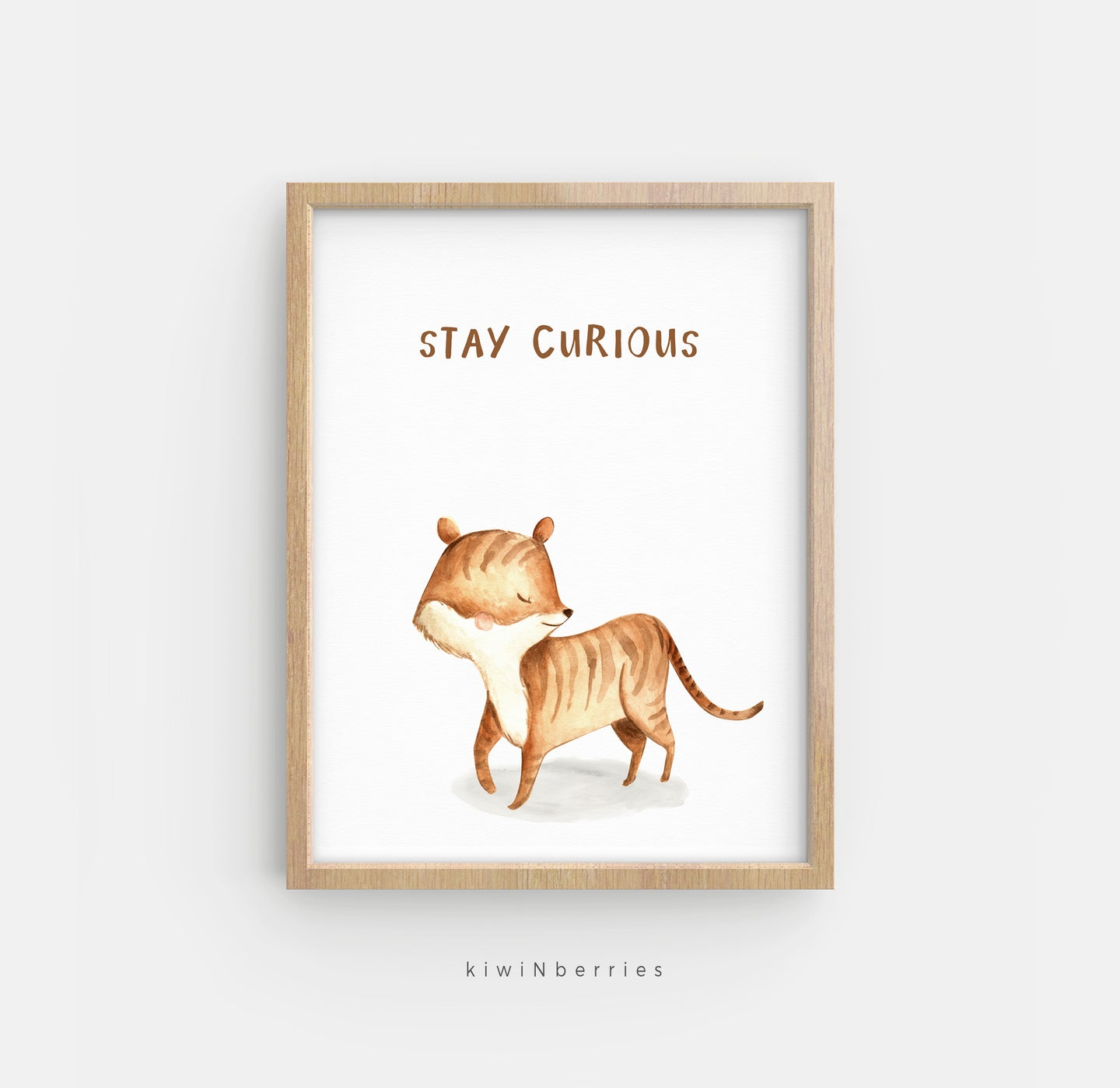 Stay Curious Tiger
