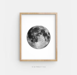 Moon Phases - set of 5