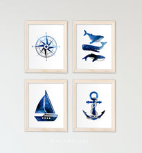 Load image into Gallery viewer, Nautical compass