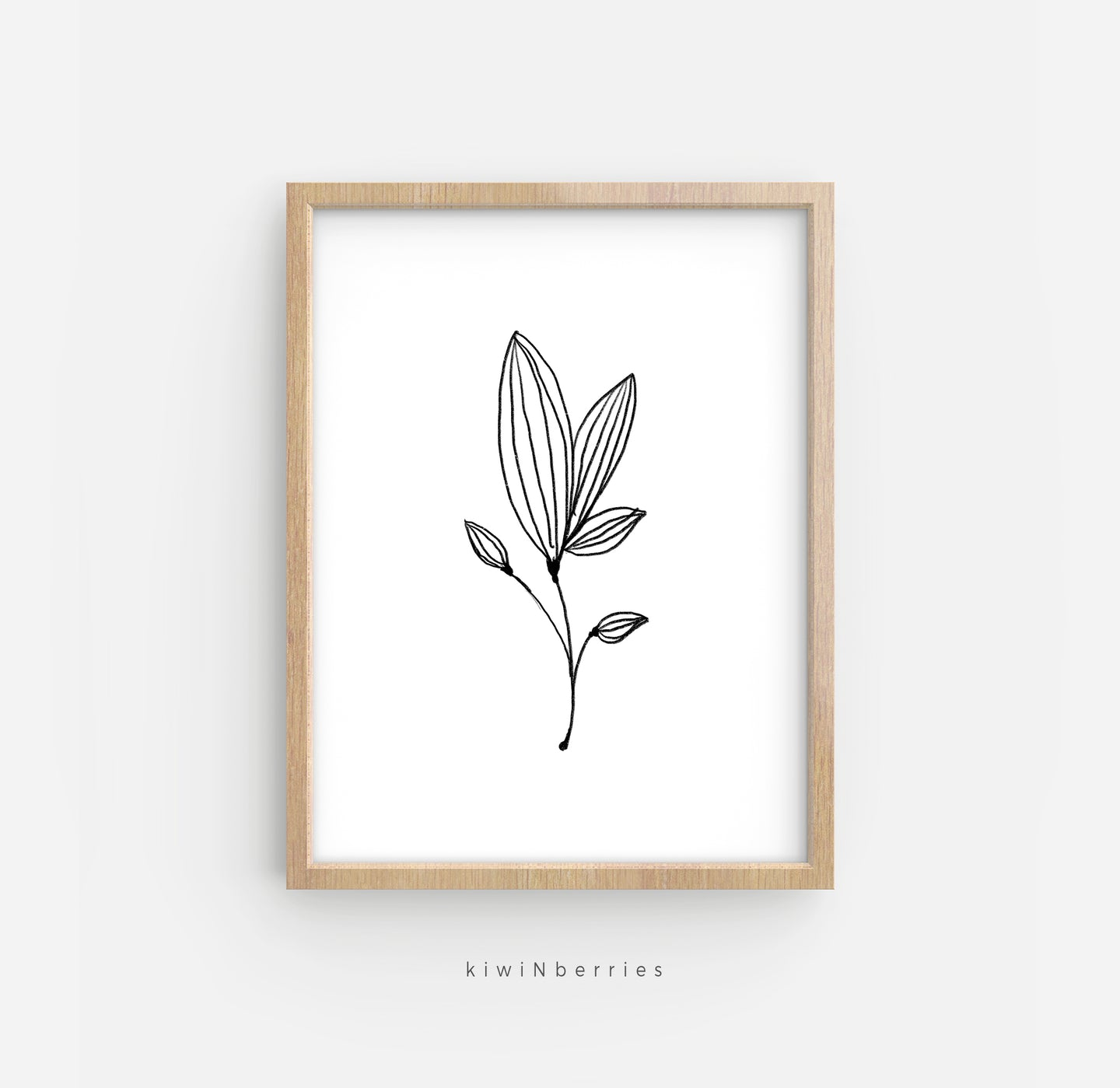 Pencil Botanical No.2
