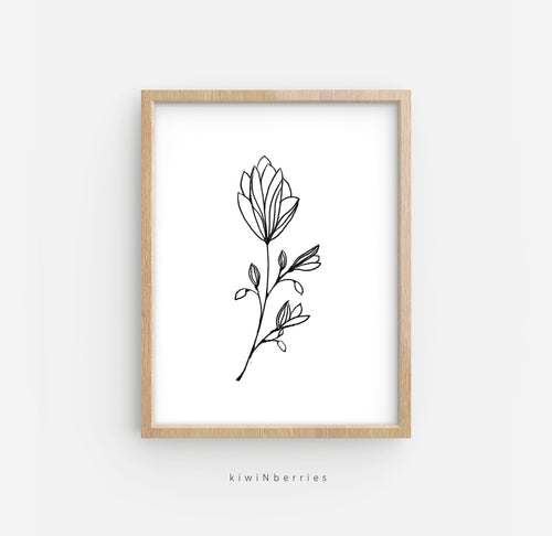 Pencil Botanical No.5