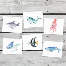 Load image into Gallery viewer, Ocean Friends - set of 8