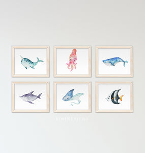 Ocean Friends - set of 8