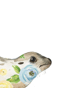 Floral Seal