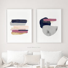 Load image into Gallery viewer, Abstract Strokes - set of 2