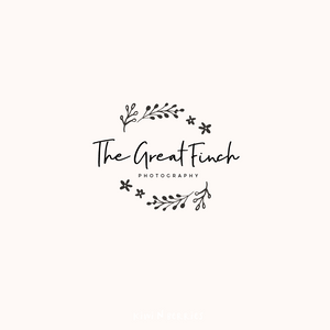 The Great Finch - Logo