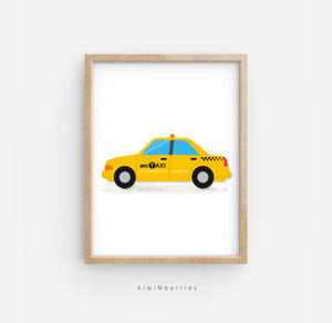 Transportation - set of 8