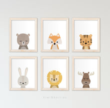 Load image into Gallery viewer, Baby Animals - set of 6