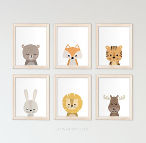 Baby Animals - set of 6