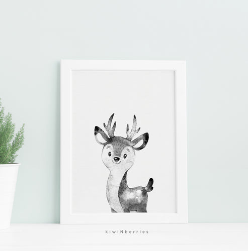 Monochrome Deer