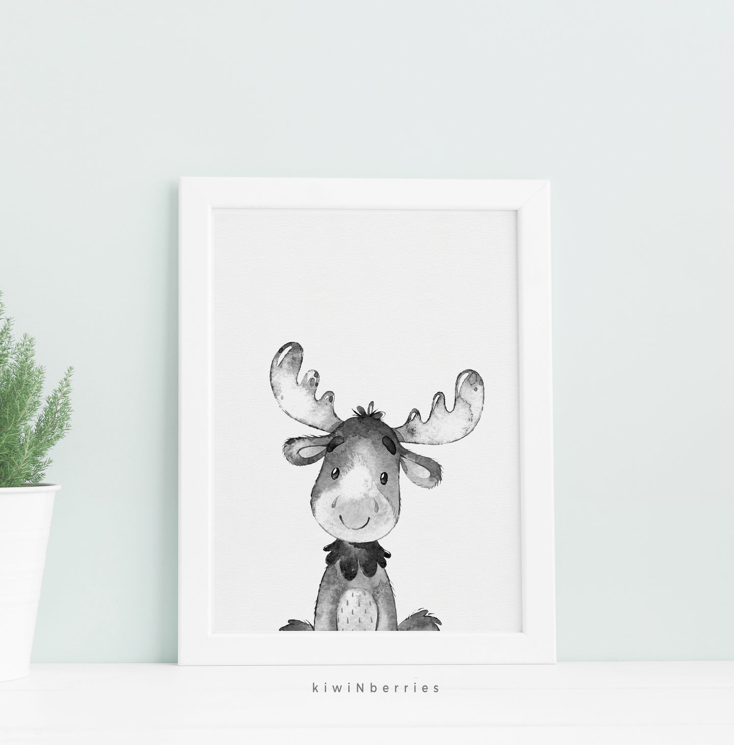 Monochrome Moose