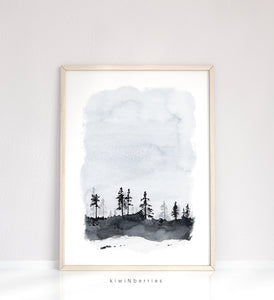 Landscape Watercolor No.5