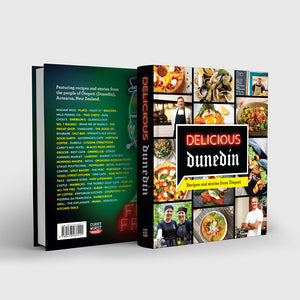 Delicious Dunedin Cookbook (Free teatowel)