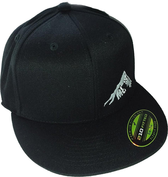 Glacier Ski Shop Signature Mt. Baker Logo Flexfit 210 Fitted Baseball Cap - glacier-ski-shop