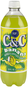 C&C Banana Soda - Case of 24 Bottles