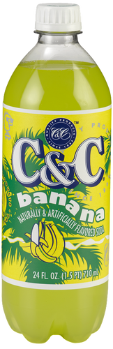C&C Banana Soda - 1 Bottle