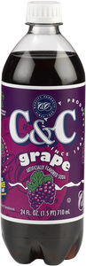 C&C Grape Soda - 1 Bottle