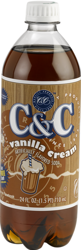 C&C Vanilla Cream Soda - 1 Bottle