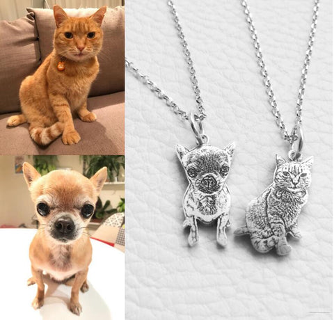 Personalized Pets Photo Necklace - Easily Improve Your Posture