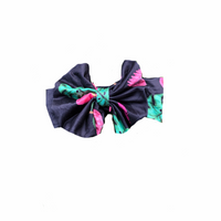 Tropical Flowers Bow