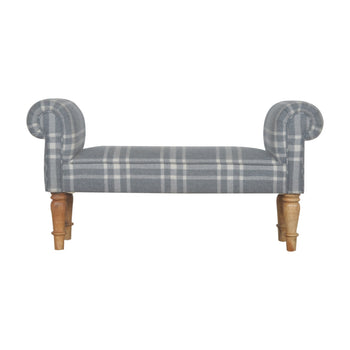 Canus Tartan Bedroom Bench