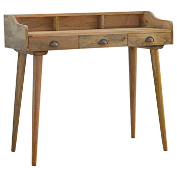 Nordic Style Gallery Back Writing Desk