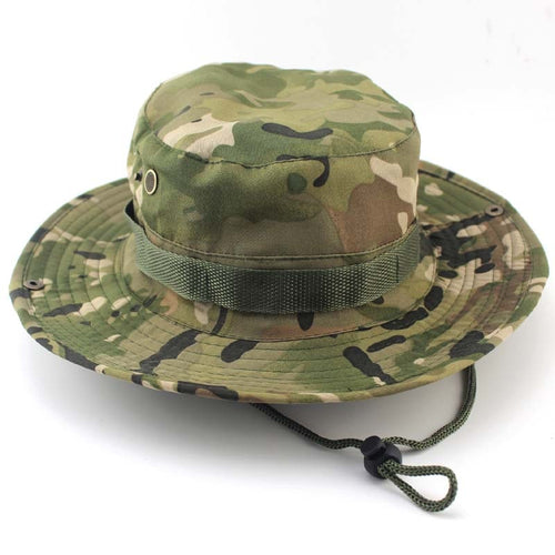 Military Outdoor Bucket Hat - Men and Woman, Apparel, Outdoorsy