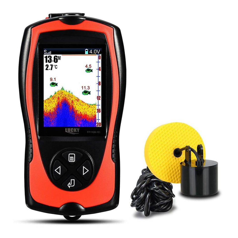 LUCKY FF1108 Portable Fish Finder, Fishing, Outdoorsy