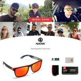Kdeam Mirror Polarized Sunglasses for Men, Apparel, Outdoorsy