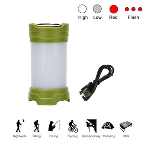 Rechargeable Magnetic Waterproof LED Camping Light - Outdoorsy