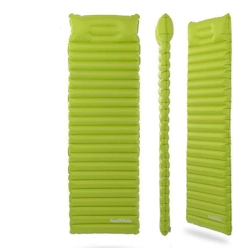 Naturehike Inflatable Moisture Proof Sleeping Pad With Pillow, Camping, eprolo, Outdoorsy