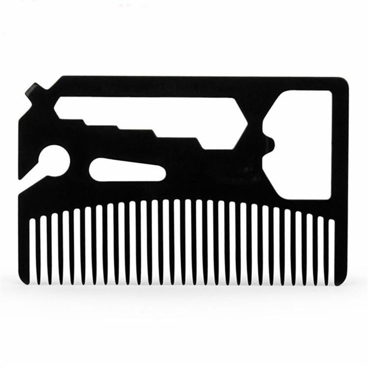 Multifunctional Utility Beard Comb, Apparel, Outdoorsy