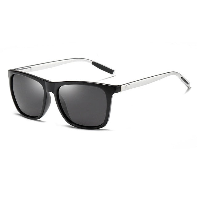 Unisex Aluminum Square Frame Polarized Sunglasses, Apparel, Outdoorsy