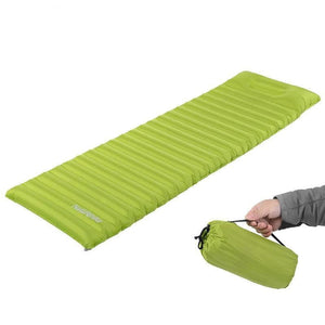Naturehike Inflatable Moisture Proof Sleeping Pad With Pillow, Camping, Outdoorsy