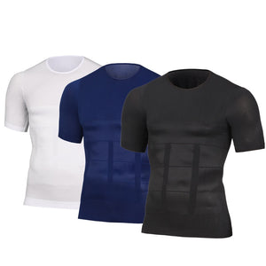 Men's Posture Slimming Shaper Compression T-Shirt, Apparel, Outdoorsy