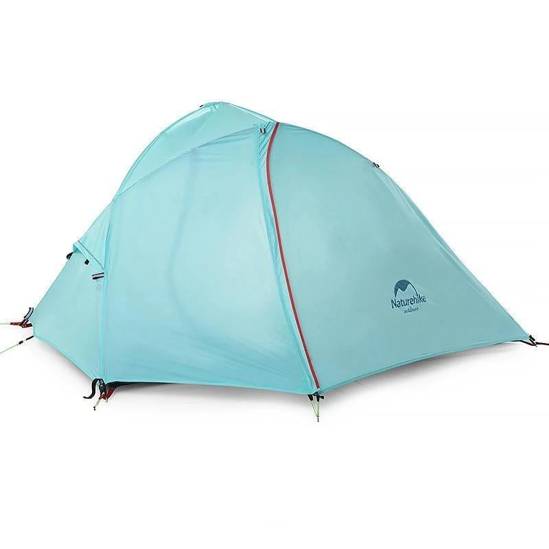Naturehike 1-2 Person Double Layer Silicone Tent - With FREE Mat, Camping, eprolo, Outdoorsy